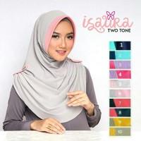Jilbab Instant Isaura Two Tone