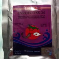 Obat Ikan Boster Inrofloxs-25 100gr antibiotik anti bakteri bkn sanbe