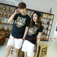 Baju Couple Paris Tiger