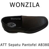 ATT AB380 Sepatu Pantofel Anti Slip Bahan Karet Lentur Pantofel Formal