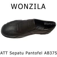 ATT AB375 Sepatu Pantofel Anti Air Bahan Karet Lentur Pantofel Formal