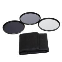 Andoer 77mm Fader ND Filter Kit Neutral Density Photography Filter Set
