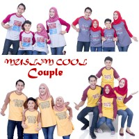 Baju Muslim Couple Bunda Size XXL Baju Muslim Murah Kaos Keluarga