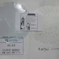 1 paket PLAFON dan RANJAU Untuk sangkar lovebird