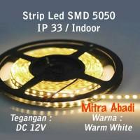 LED Strip SMD 5050 Warm White DC 12V IP33 INDOOR ONLY