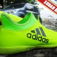 SEPATU FUTSAL Adidas X 16.2 Techfit Boots Stabilo KW Super