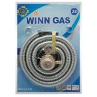 WINN GAS Regulator dan Selang Kompor Gas 1,8 meter