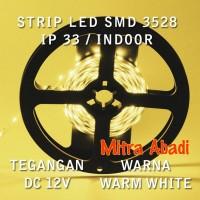 Flexible LED Strip Warm White SMD 3528 DC12V IP33 INDOOR ONLY