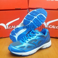 Sepatu Running Calci Dallas Grey / Saphire Blue - ORIGINAL