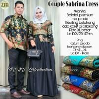 Batik Couple / Dress Batik Couple Sabrina