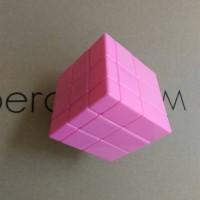 Rubik Mirror 3x3 Shengshou Speed Cube 3x3x3 Stickerless Pink