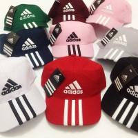 Topi Adidas Bordir / Baseball Cap Adidas Unisex (Pria dan Wanita)