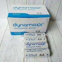 Baterai Cas AA Dynamax 1000mAh 1Pak isi 4pcs Batre Isi Ulang