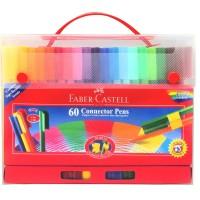 Connector Pen 60 Warna Faber Castell Gift Set