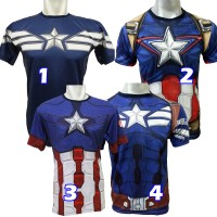 kaos captain america avengers superhero