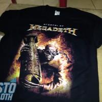 Kaos Band Metal Arsenal Of Megadeth - MEGA12