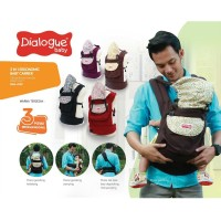 DIALOGUE BABY CARRIER/ GENDONGAN BAYI RANSEL ERGO 3IN1 [DGG4130]