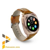Smart watch DZ10 / Smartwatch X3 Sim Card Memory Card Gold Brown