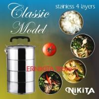 Rantang Makanan/Catering Stainless 4 Susun
