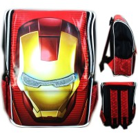 Tas Ransel Sekolah Anak TK Avenger Iron Man 3D Timbul Jepang