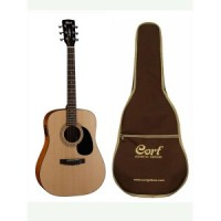 Cort AD810E Acoustic Guitar with Electric Pickup