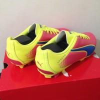 Sepatu Bola Puma Adreno FG Pink Fluorescent Green 10341802 Original