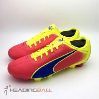 Sepatu Bola Puma Original Adreno FG Pink Fluorescent Green 10341802