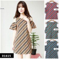 Dress Batik modern / Blouse batik modern / sabrina
