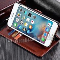 Flip Cover Iphone 6 Plus Leather Case Magnetic Wallet Card