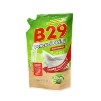 Sabun Pencuci Piring Liquid Dishwasing B29 Pouch 800ML Lime