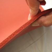 Sponge silicone rubber 3mm / Spon silikon karet merah tahan panas