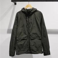 GAP Hooded Fatigue Jacket Olive
