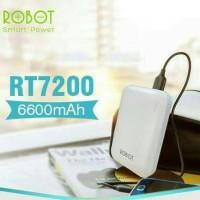 Powerbank Vivan Robot RT7200 6600mAh / Power Bank Original 100%