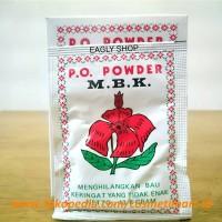 MBK Powder Kemasan Putih - Bedak Anti Bau Badan & Keringat (Sachet)