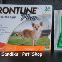 Obat Kutu Anjing FRONTLINE PLUS DOG & PUPPIES Up To 10 KG - 1 PIPET