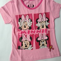 Kaos anak perempuan Mickey pink