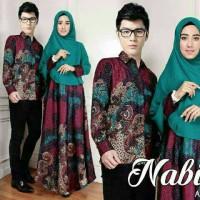 CAT Cp Nabila Tosca 3in1 - Baju couple -baby batik couple -baju bati S