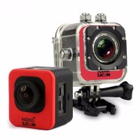 SJCAM M10 Cube Mini Full HD Action Camera - Merah