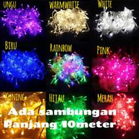 Lampu led natal | twinkle | string | tumblr | dekorasi