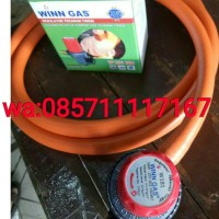 selang gas paket regulator high pressure winn gas