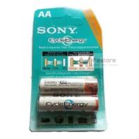 Baterai Cas Sony Cycle Energy size AA - untuk kamera remote mainan dll