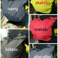 tas helm/sarung helm anti air model GEMBLOK/RANSEL kyt ink zeus mds