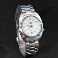 jam tangan seiko pria or wanita / jyr 596 putih Berkualitas