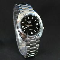 jam tangan seiko pria or wanita / jtr 596 hitam Diskon