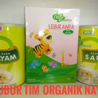 Bubur Bayi Organik (Rasa Ayam+Sapi+Ikan Salmon) Nayz