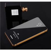 Aluminium Tempered Glass Hard Case for Xiaomi Redmi Note 2 murah