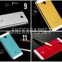 Aluminium Tempered Glass Hard Case for Xiaomi Redmi 2 murah