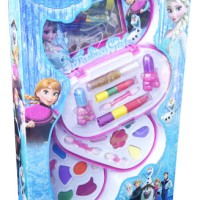 Mainan Anak Perempuan - Make Up Set Frozen 3 Susun Fashion Beauty