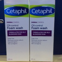 Penawaran Khusus Cetaphil Dermacontrol Oil Control Foam Wash 235ml