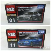 Tomica Premium Nismo R34 GTR Z-Tune & GTR V-Spec (2pcs)